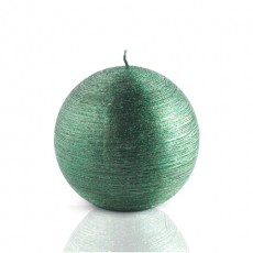 "4"" Unscented Green Scratch Ball Candle (2pc/Box)"