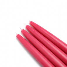 "6"" Red Taper Candles (1 Dozen)"