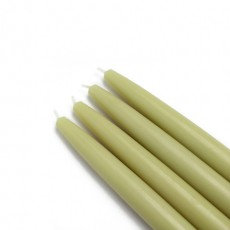 "6"" Sage Green Taper Candles (144pcs/Case) Bulk"