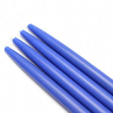 "10"" Blue Taper Candles (144pcs/Case) Bulk"