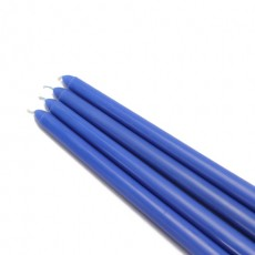 "12"" Blue Taper Candles (144pcs/Case) Bulk"