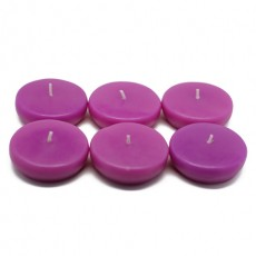 """2 1/4"""" Purple Floating Candles (24pc/Box)"""