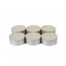Mega Oversized Ivory Tealights (12pc/Box)