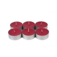 Mega Oversized Red Tealights (144pcs/Case) Bulk
