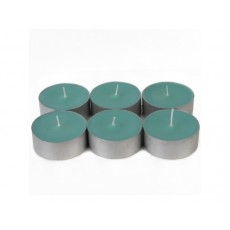 Mega Oversized Aqua Tealights (12pc/Box)
