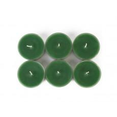 Mega Oversized Hunter Green Tealights (144pcs/Case) Bulk