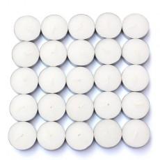 White Citronella Tealight Candles (1,200pcs/Case) Bulk