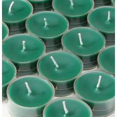 Hunter Green Tealight Candles (50pcs/Pack)