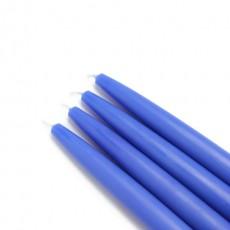 "6"" Blue Taper Candles (1 Dozen)"