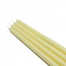 "12"" Ivory Taper Candles (1 Dozen)"