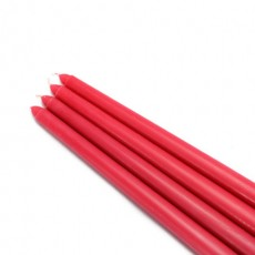 "12"" Red Taper Candles (1 Dozen)"