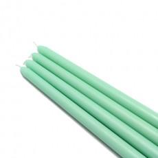 """12"""" Aqua Taper Candles (144pcs/Case) Bulk"""