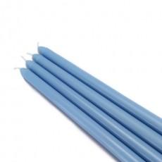 "12"" Light Blue Taper Candles (144pcs/Case) Bulk"