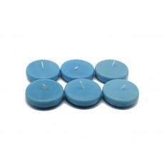 "2 1/4"" Light Blue Floating Candles (24pc/Box)"