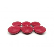 "3"" Red Floating Candles (72pcs/Case) Bulk"