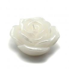 """3"""" White Rose Floating Candles (144pcs/Case) Bulk"""