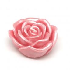"3"" Pink Rose Floating Candles (144pcs/Case) Bulk"