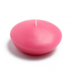 """4"""" Hot Pink Floating Candles (3pc/Box)"""