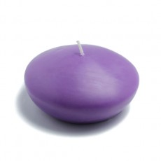 """4"""" Purple Floating Candles (3pc/Box)"""