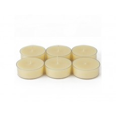 Mega Oversized Ivory Tealights (144pcs/Case) Bulk