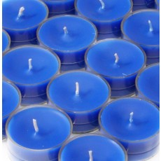 Blue Tealight Candles (50pcs/Pack)