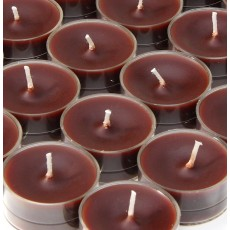 Brown Tealight Candles (50pcs/Pack)
