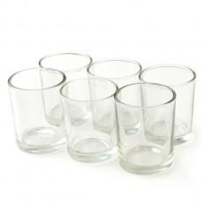 Round Glass Votive Holder (12pc/Box)