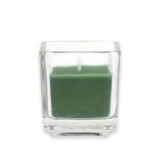 Hunter Green Square Glass Votive Candles (96pcs/Case) Bulk