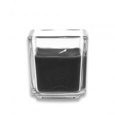 Black Square Glass Votive Candles (96pcs/Case) Bulk