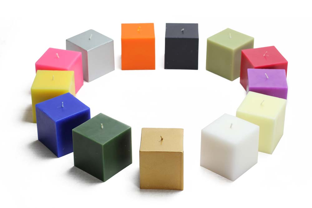 Square Pillar Candles